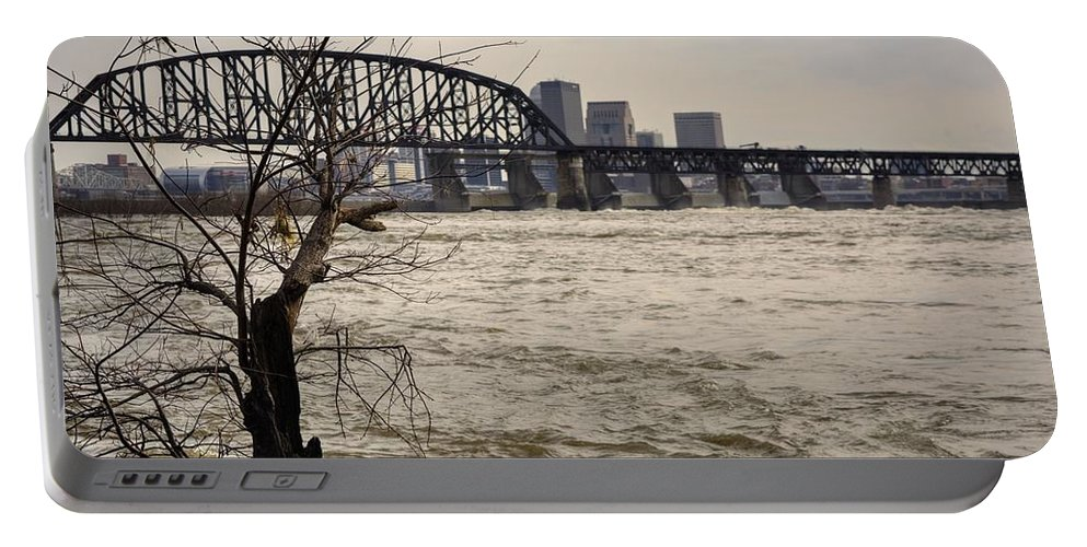 Louisville Portable Battery Charger featuring the photograph Dirty Water View by FineArtRoyal Joshua Mimbs
