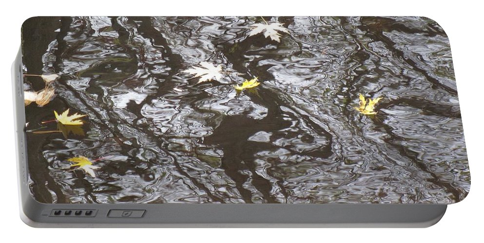 Water Portable Battery Charger featuring the photograph Disturbance by Sybil Staples