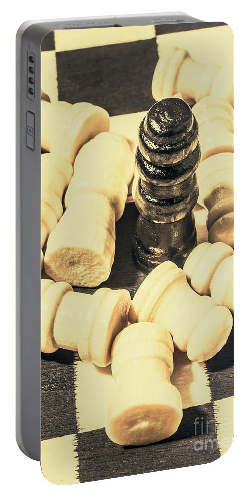 Dictator Portable Battery Charger featuring the photograph Divide And Conquer by Jorgo Photography - Wall Art Gallery