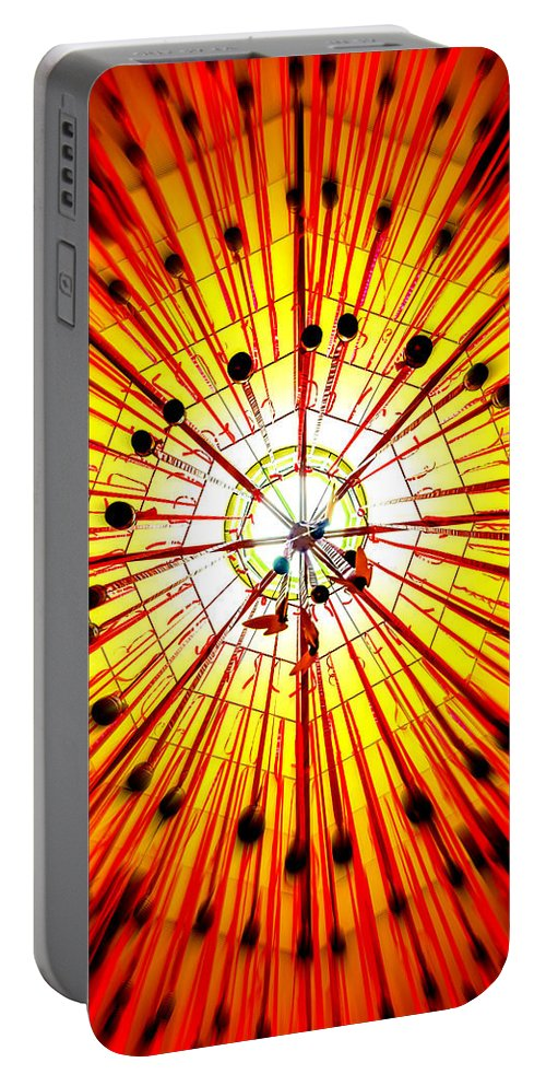 Star - Space Portable Battery Charger featuring the photograph Diwali 4 by Jijo George