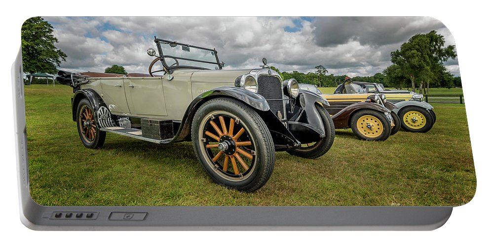 American Portable Battery Charger featuring the photograph Dodge Four Tourer by Adrian Evans
