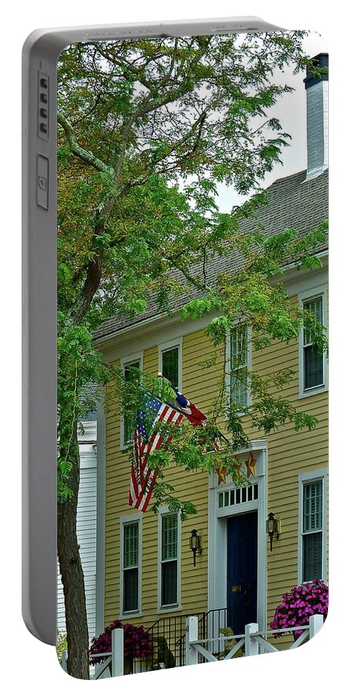 House Portable Battery Charger featuring the photograph Doll House by Diana Hatcher