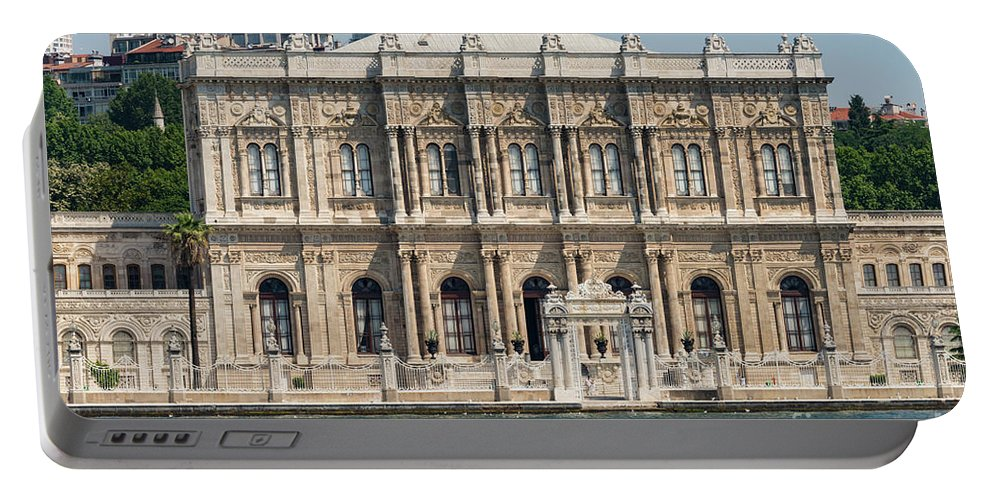 Istanbul Portable Battery Charger featuring the photograph Dolmabahce Palace by Bob Phillips