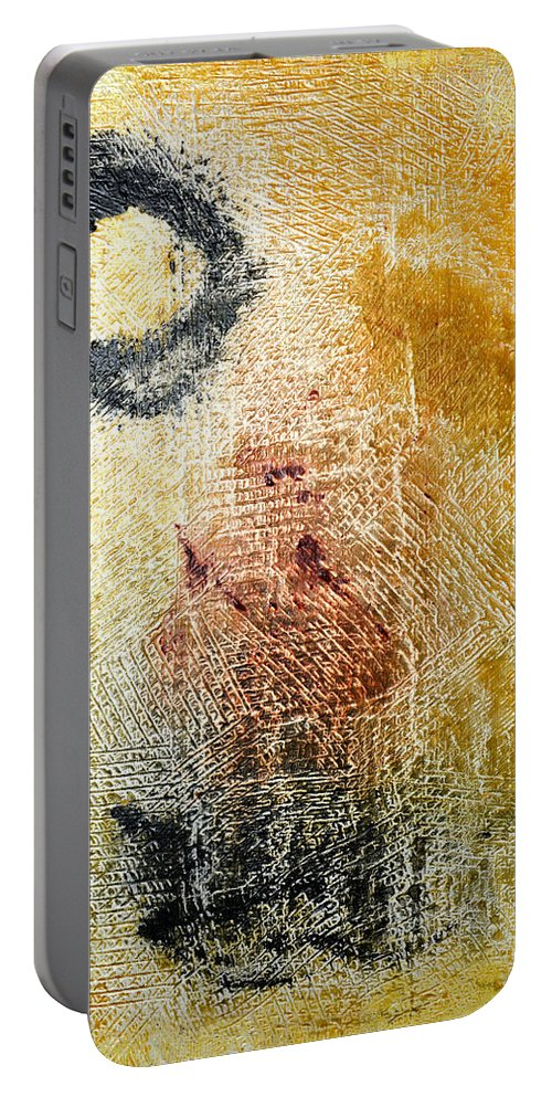 Don Quixote Portable Battery Charger featuring the painting Don Quixote - Dc Boutwell by Julie Niemela