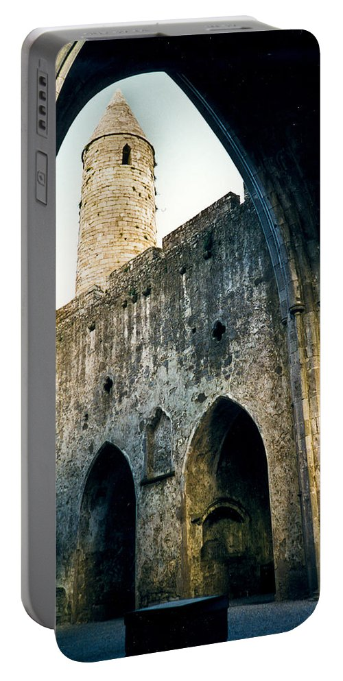 Scotland Portable Battery Charger featuring the photograph Doorways To The Cashel Castle by Douglas Barnett