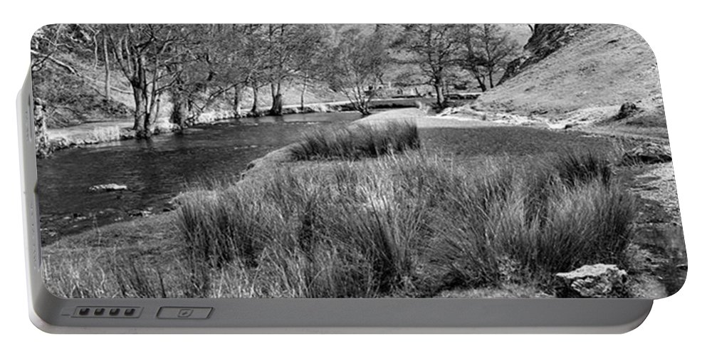 Dale Portable Battery Charger featuring the photograph Dovedale, Peak District UK by John Edwards