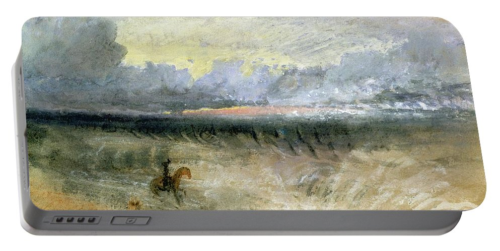 Dover Portable Battery Charger featuring the painting Dover by Joseph Mallord William Turner