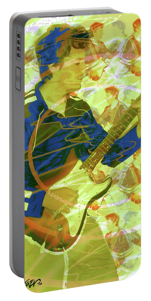 Dr. Guitar Portable Battery Charger featuring the photograph Dr. Guitar by Seth Weaver