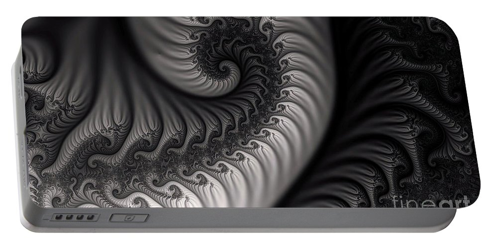 Clay Portable Battery Charger featuring the digital art Dragon Belly by Clayton Bruster