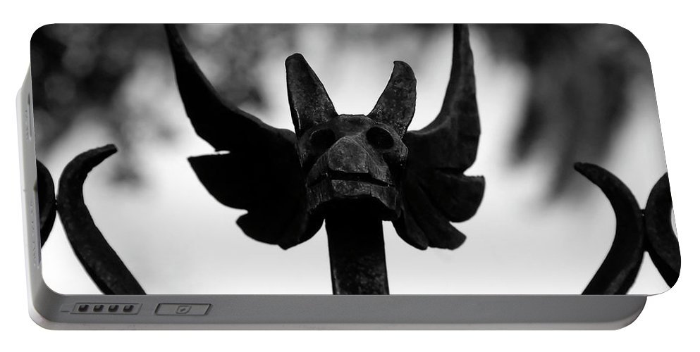 Fine Art Photography Portable Battery Charger featuring the photograph Dragons Gate by David Lee Thompson
