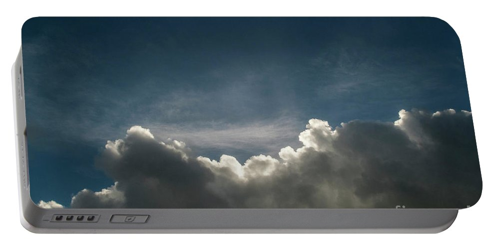 Cloud Portable Battery Charger featuring the photograph Dramatic Cloudy Sky by Clayton Bastiani