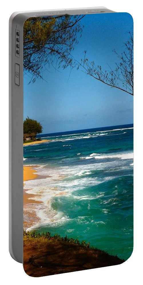 Kauai Portable Battery Charger featuring the photograph Dream On by Richard L Gordon