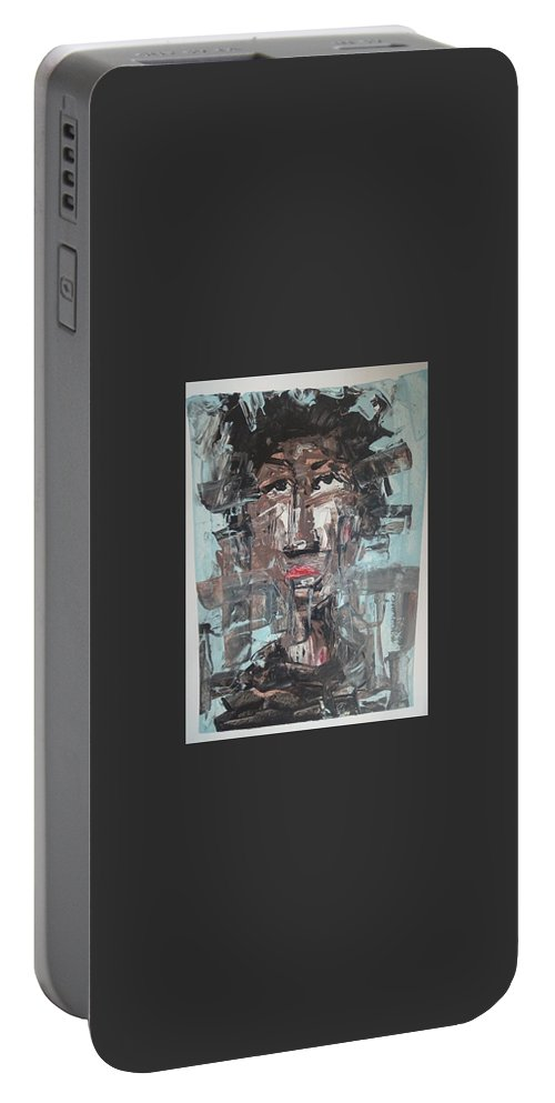 Portrait Portable Battery Charger featuring the painting Dream On by Samuel Aikins