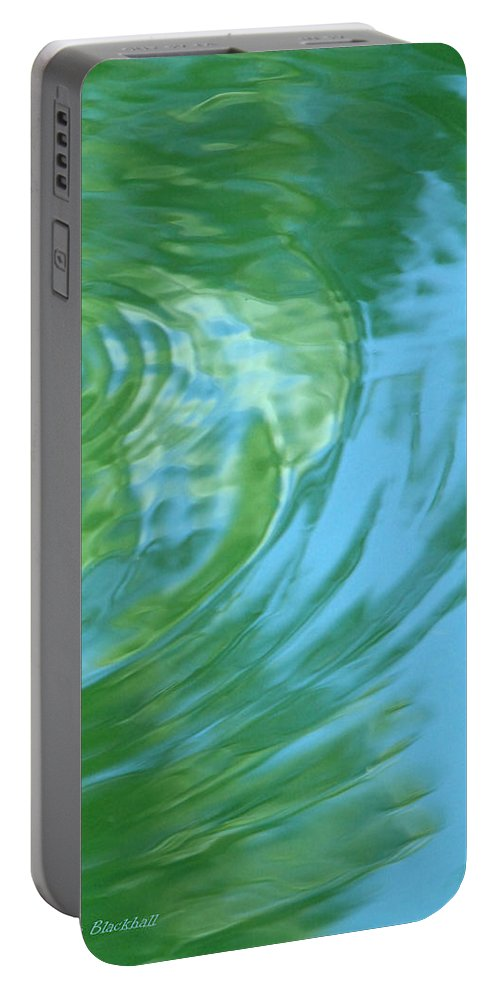 Water Portable Battery Charger featuring the photograph Dream Pool by Donna Blackhall