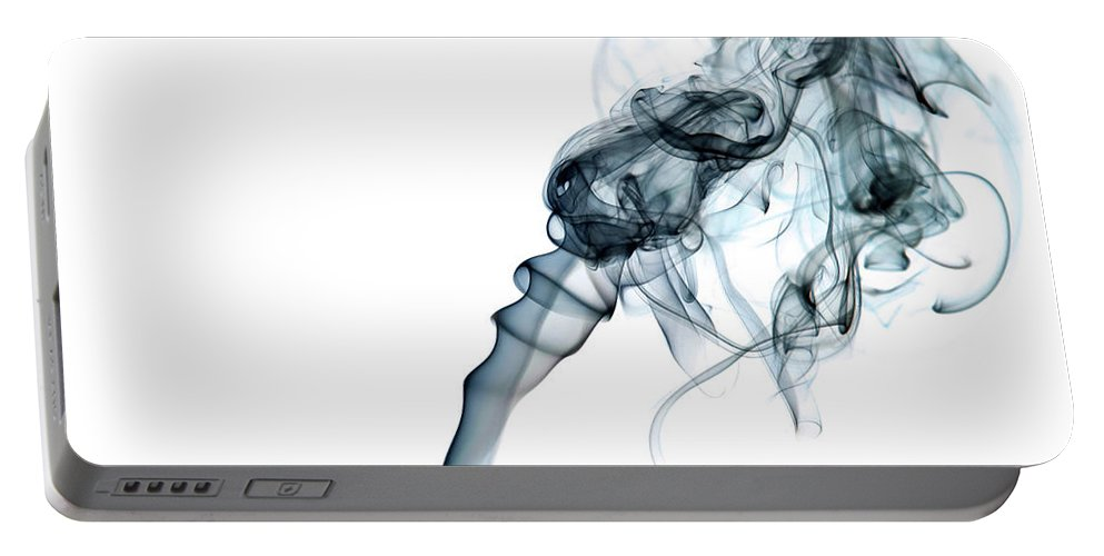 Abstract Portable Battery Charger featuring the photograph Dreaming by Shannon Workman