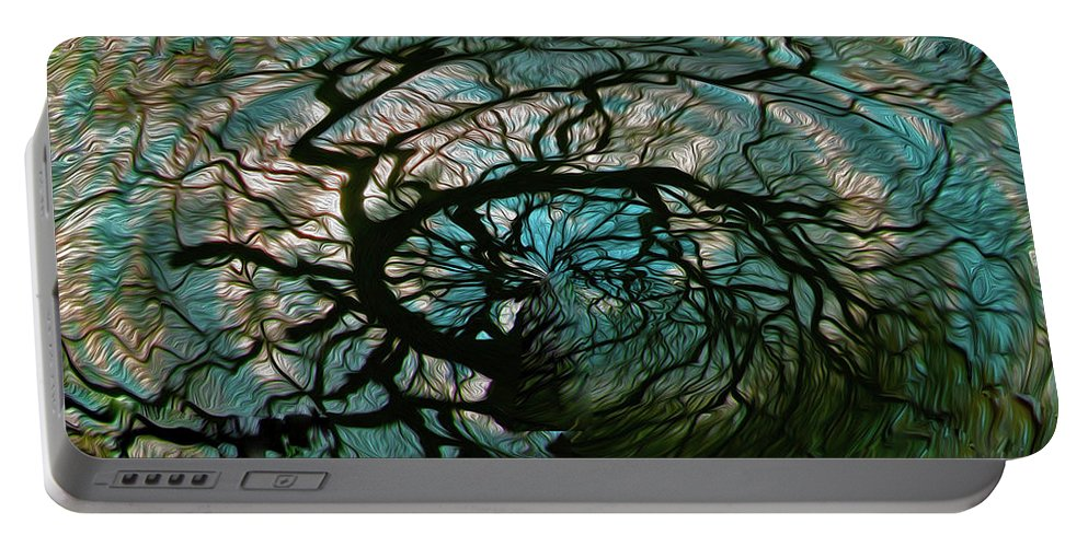 Tree Portable Battery Charger featuring the photograph Dreams Unwind by Mykel Davis