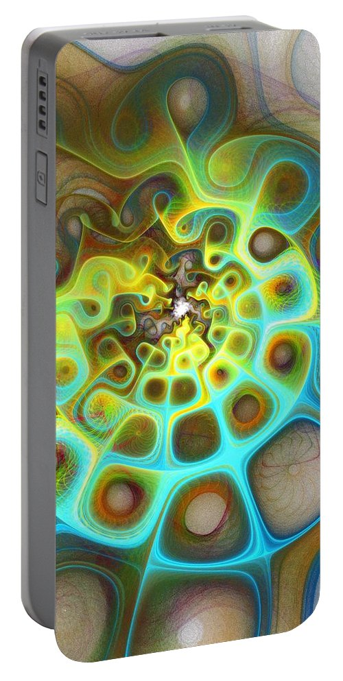 Digital Art Portable Battery Charger featuring the digital art Dreamscapes by Amanda Moore
