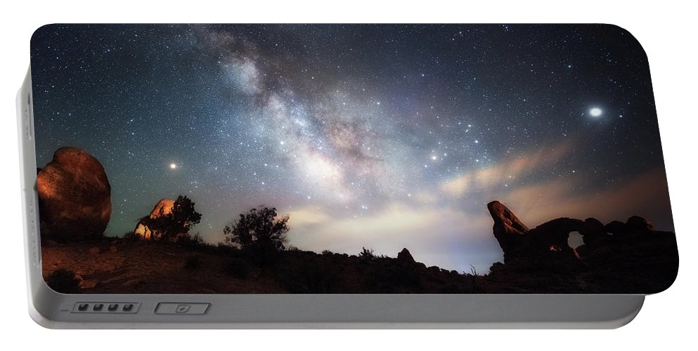 Fine Art Landscape Photography Portable Battery Charger featuring the photograph Dreamy by Russell Pugh