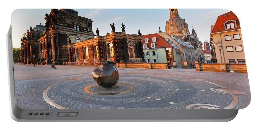 Germany Portable Battery Charger featuring the photograph dresden 'IV by Milan Gonda