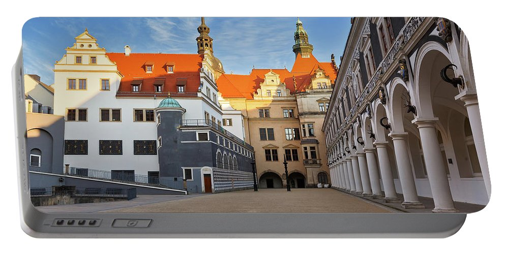 Germany Portable Battery Charger featuring the photograph dresden 'V by Milan Gonda