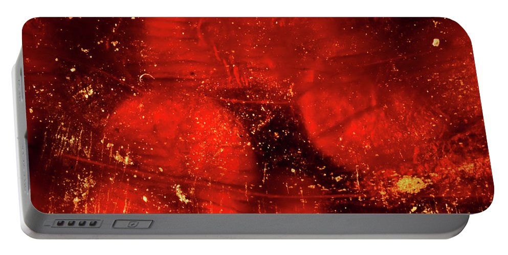 Chili Pepper Portable Battery Charger featuring the photograph Dried Red Pepper by Onyonet Photo Studios