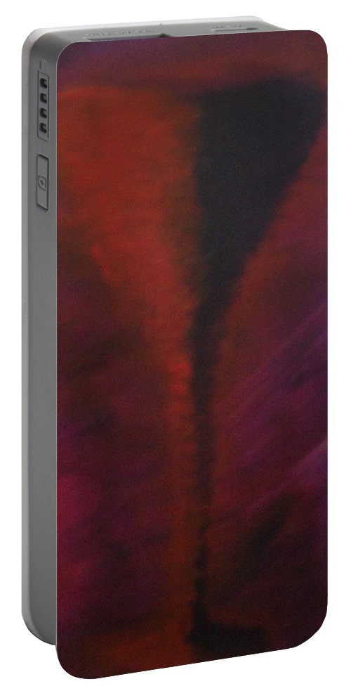 Drink Portable Battery Charger featuring the painting Drink by Laurette Escobar