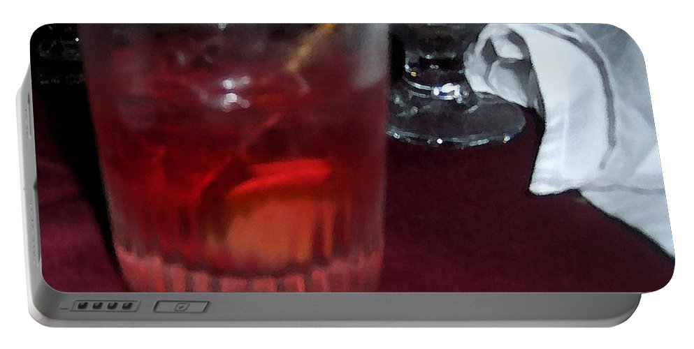 Drinks Portable Battery Charger featuring the photograph Drink Up by Debbi Granruth
