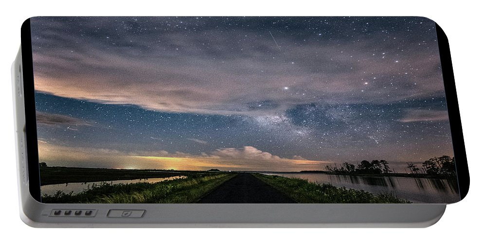 Maryland Portable Battery Charger featuring the photograph Drive Into The Wild by Robert Fawcett