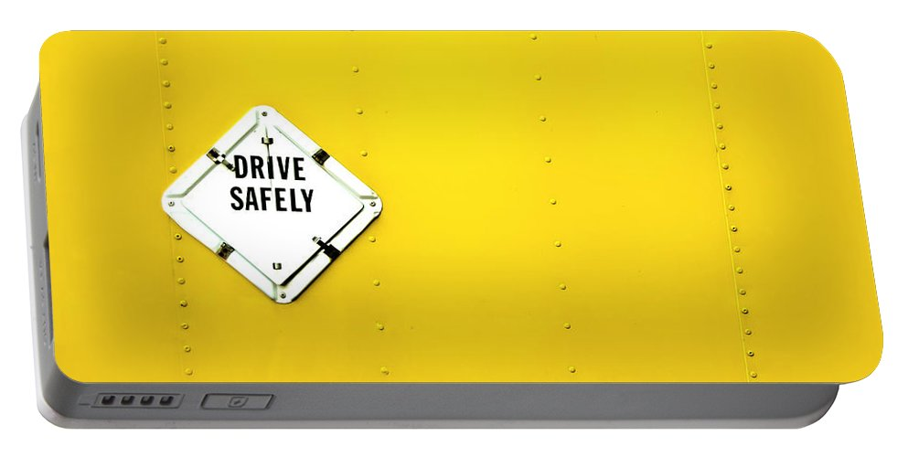 Bright Portable Battery Charger featuring the photograph Drive Safely by Evelina Kremsdorf