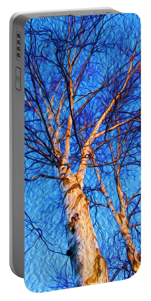Quaking Aspen Portable Battery Charger featuring the photograph Dsc_5485_jm by Jeffrey Monte