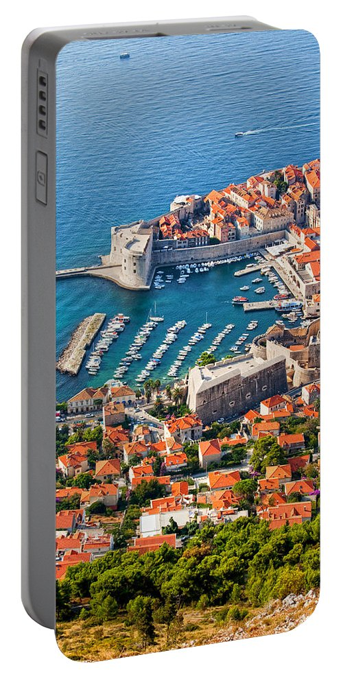 Dubrovnik Portable Battery Charger featuring the photograph Dubrovnik From Above by Artur Bogacki