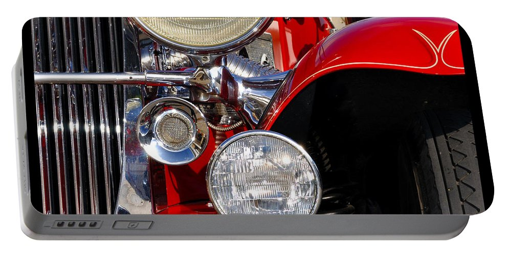 Car Portable Battery Charger featuring the photograph Duesenberg by Tim Nyberg