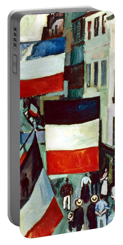 1906 Portable Battery Charger featuring the photograph Dufy: Flags, 1906 by Granger
