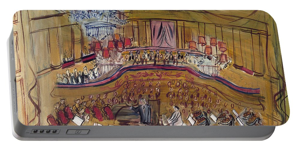 1948 Portable Battery Charger featuring the photograph Dufy: Grand Concert, 1948 by Granger