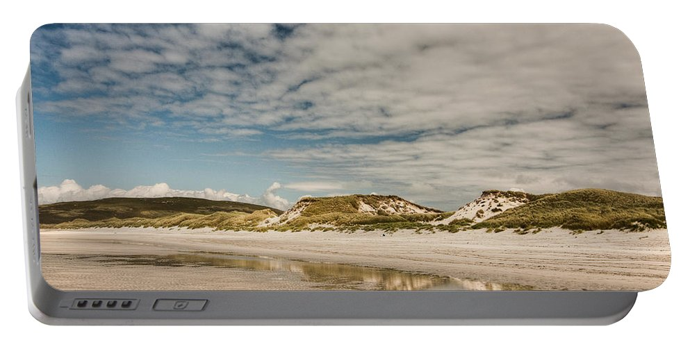 Scotland Portable Battery Charger featuring the photograph Dunes by Colette Panaioti