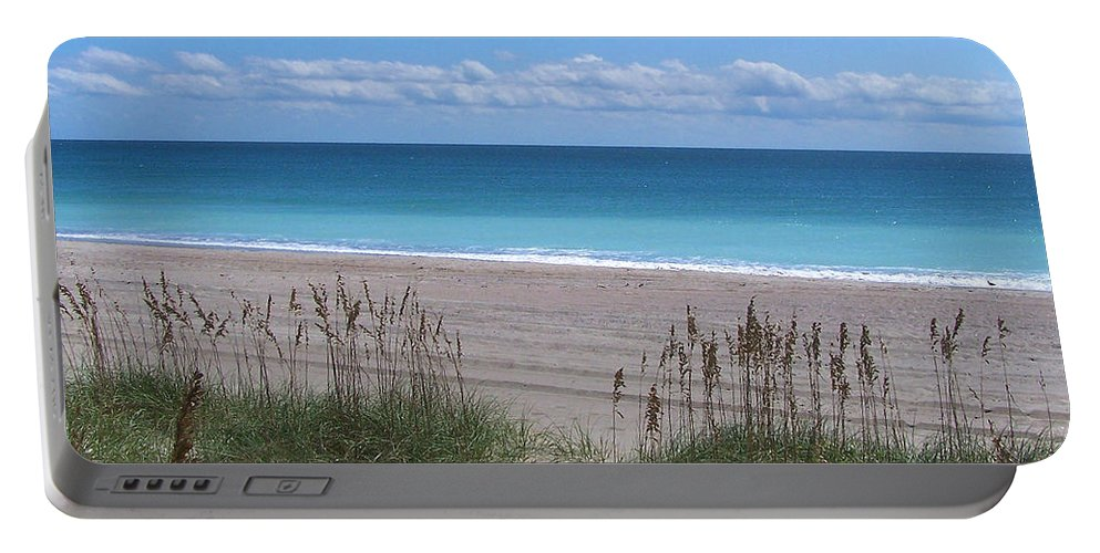 Beach Portable Battery Charger featuring the photograph Dunes On The Outerbanks by Sandi OReilly