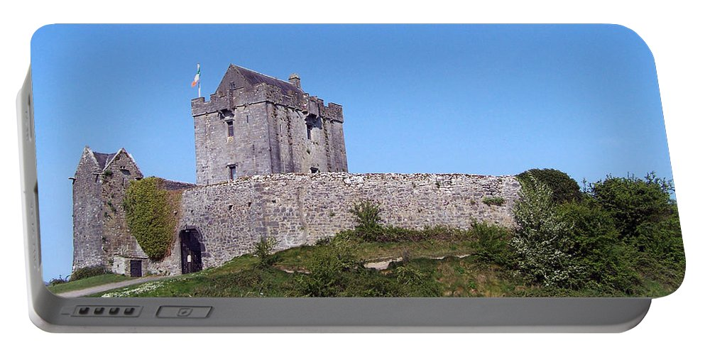 Irish Portable Battery Charger featuring the photograph Dunguaire Castle Kinvara Ireland by Teresa Mucha
