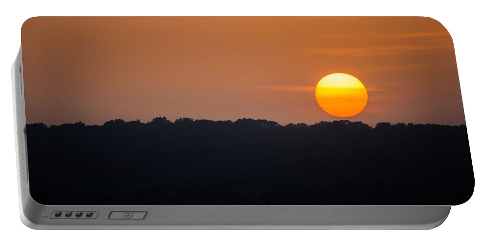 Sunset Portable Battery Charger featuring the photograph Dusk In All Its Glory by Parker Cunningham