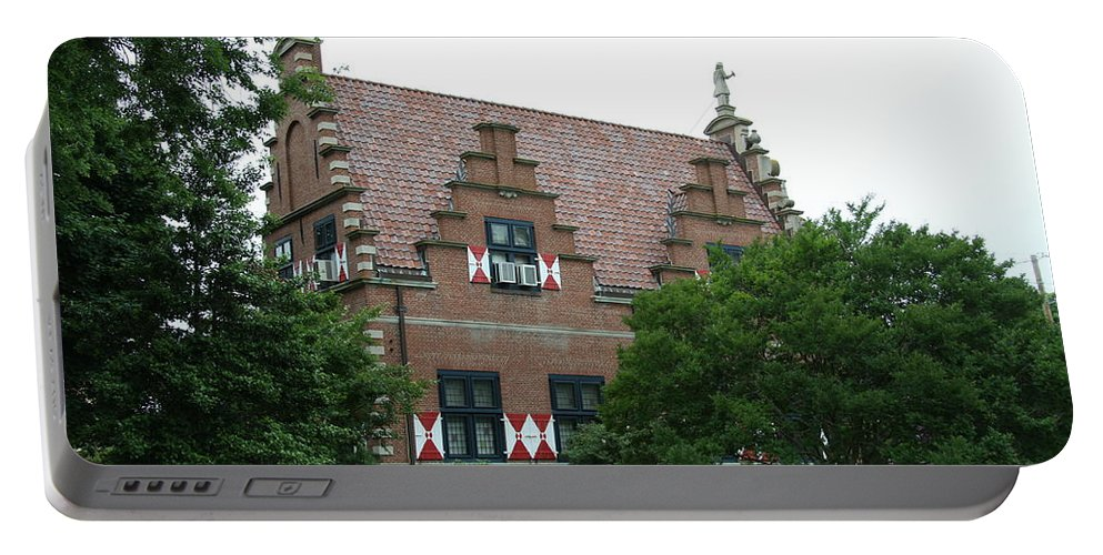 Dutch Portable Battery Charger featuring the photograph Dutch Building - Henlopen by Christiane Schulze Art And Photography
