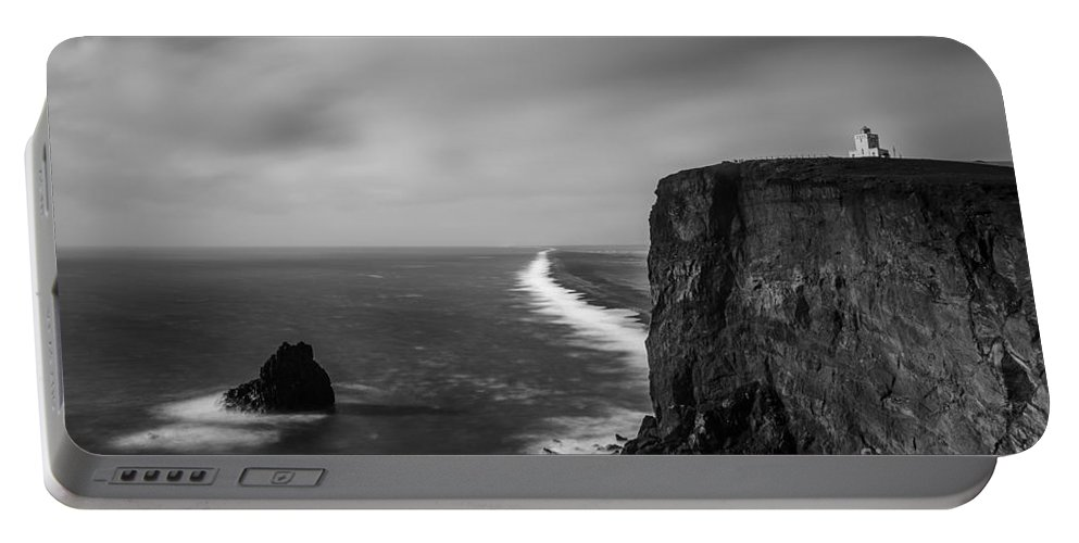 Iceland Portable Battery Charger featuring the photograph Dyrholaey 2 by Gunnar Orn Arnason