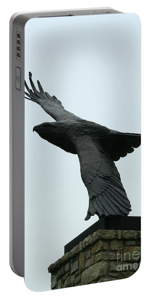 Eagle Park Portable Battery Charger featuring the photograph Eagle Park by Tommy Anderson