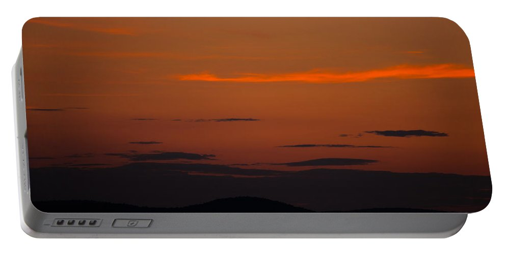 Early Evening Portable Battery Charger featuring the photograph Early Evening by Karol Livote