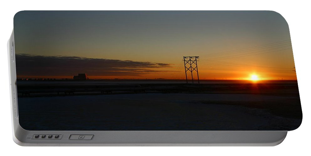 Sunrise Portable Battery Charger featuring the photograph Early Morning Sunrise by Anthony Jones
