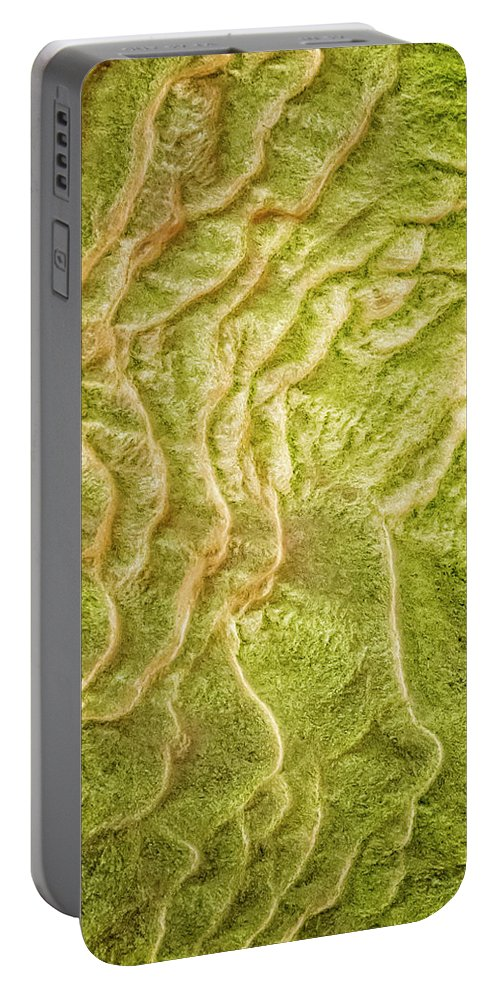 Iceland Portable Battery Charger featuring the photograph Earth Art 9511 by Karen Celella