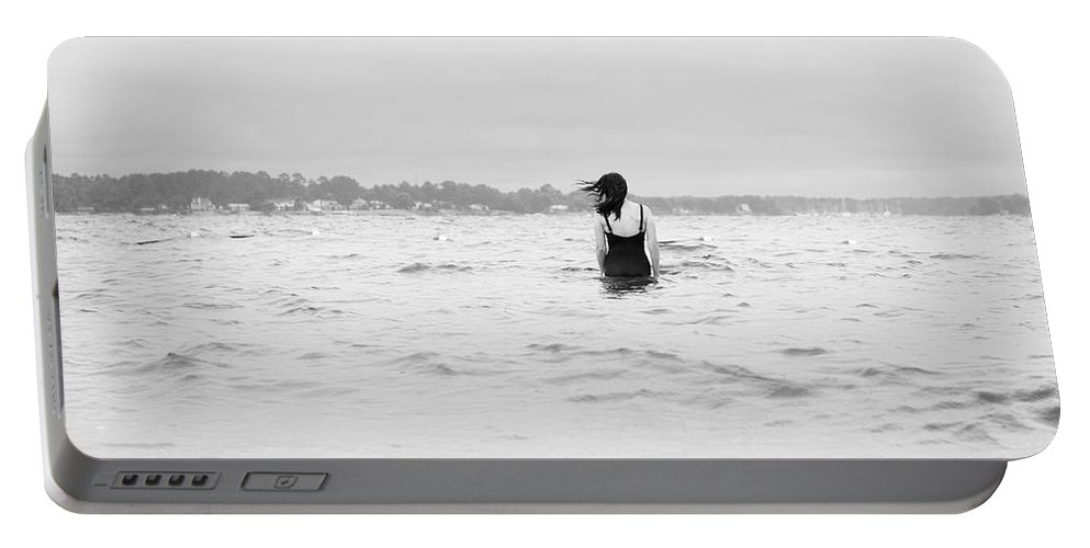 Water Portable Battery Charger featuring the photograph East Coast by Rachel Morrison