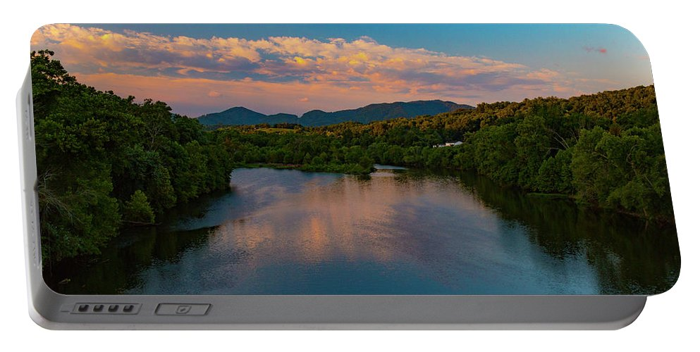 Landscape Portable Battery Charger featuring the photograph Eastward Bound by Shanna Robillard