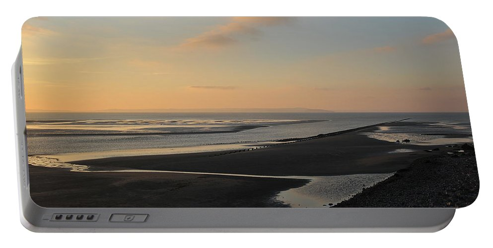 Beach Portable Battery Charger featuring the photograph Echo by Harry Robertson