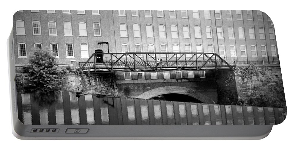 Mill Portable Battery Charger featuring the photograph Echoes Of Mills Past by Greg Fortier