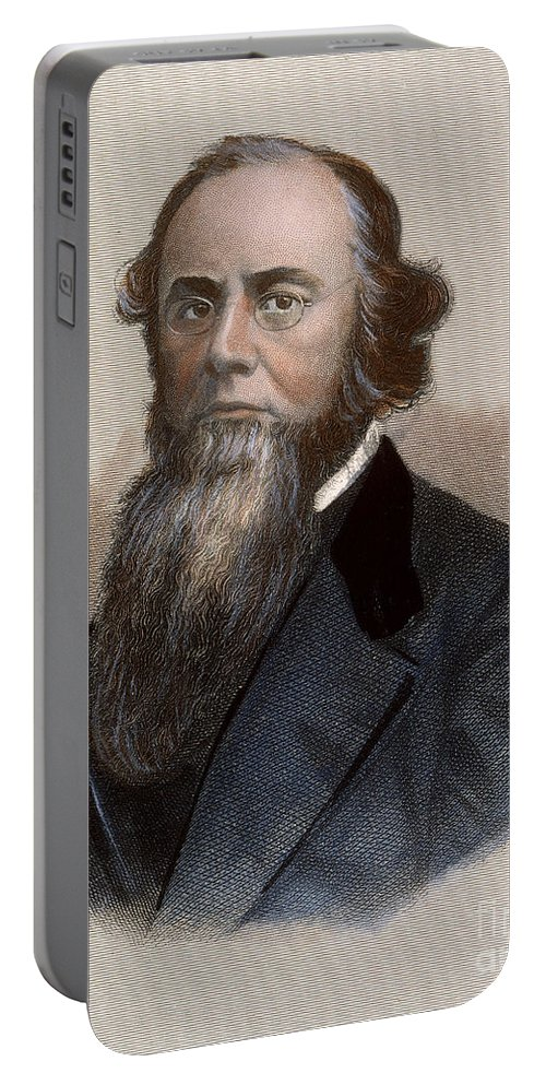 1860s Portable Battery Charger featuring the photograph Edwin M. Stanton by Granger