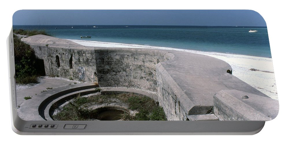 Beaches Portable Battery Charger featuring the photograph Egmont Key by Richard Rizzo